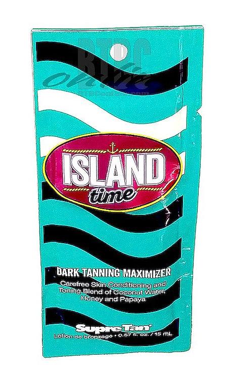 Island Time * Dark Tanning Maximizer * .57oz Packette