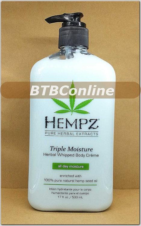Triple Moisture Herbal Whipped Body Creme * 17oz Bottle