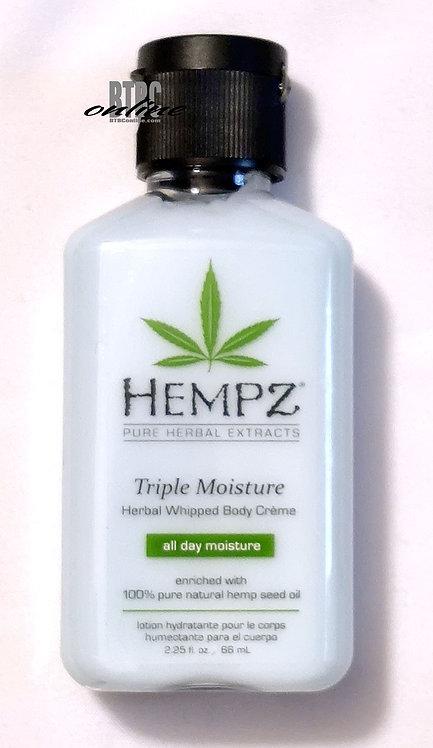 Triple Moisture Herbal Whipped Body Creme * 2.25oz Bottle