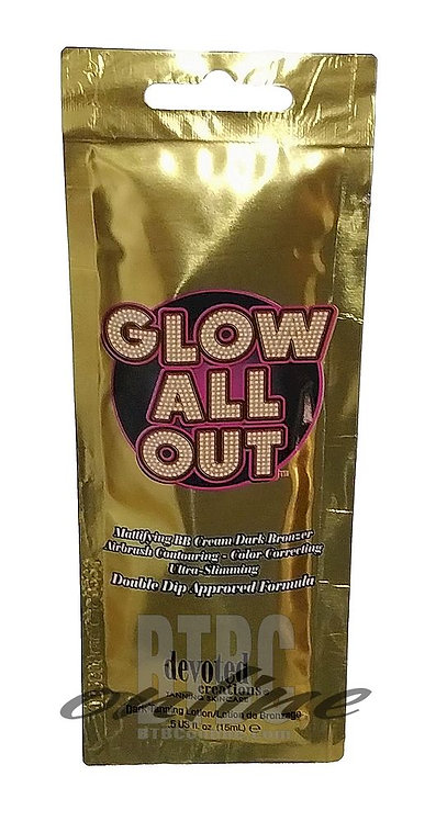 Glow All Out * BB Creme Dark Bronzer * .5oz Packette
