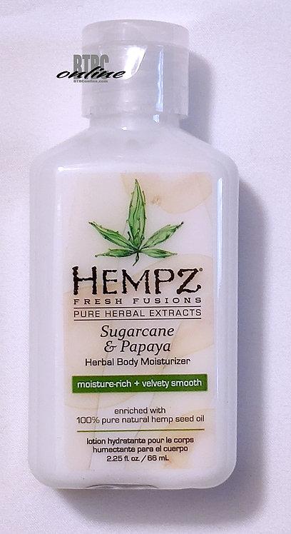 Sugarcane & Papaya * Hempz Herbal Moisturizer - 2.25oz bottle