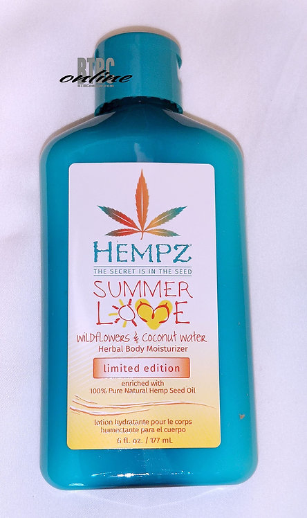 LIMITED EDITION * Summer Love * Wildflowers & Coconut water * 6oz Bottle