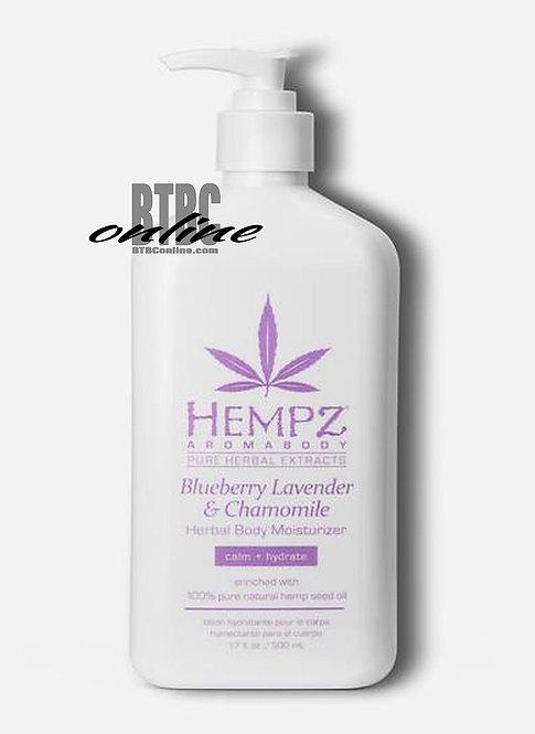 Blueberry, Lavender & Chamomile Herbal Body Moisturizer * 17oz Bottle