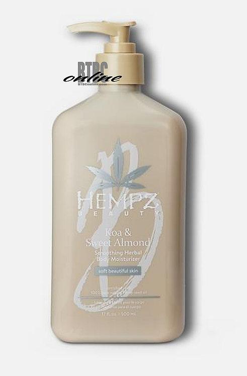 Koa & Sweet Almond Soothing Herbal Body Moisturizer * 17oz