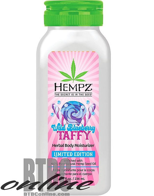 Summer Festival Limited Edition * Wild Blueberry Taffy * 8oz Bottle