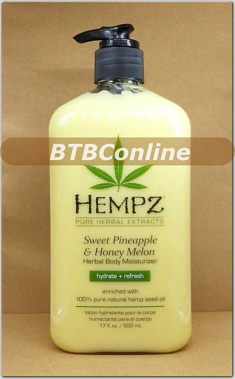 Sweet Pineapple & Honey Melon * Herbal Body Moisturizer -  17oz Bottle
