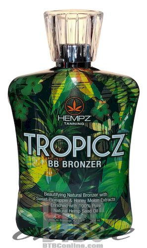TROPICZ BB Bronzer * Beautifying Natural Bronzer * 13.5oz Bottle