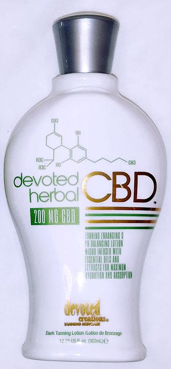 NEW for 2020 * Devoted HERBAL CBD * 12.25oz Bottle