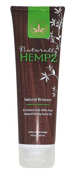 NaturallyHempz * Natural Bronzer * 9oz