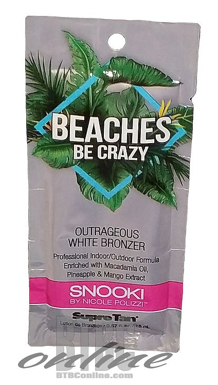 Beaches Be Crazy * Outrageous White Bronzer * .57oz Packette