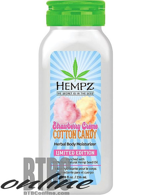 Summer Festival Limited Edition Strawberry Creme Cotton Candy * 8oz Bottle