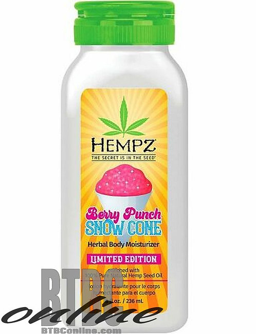Summer Festival Limited Edition * Berry Punch Snow Cone * 8oz Bottle