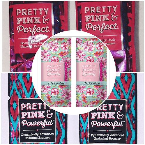 Pretty Pink & Lovely, Perfect, Powerful LOT