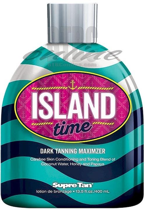 Island Time * Dark Tanning Maximizer * 13.5oz Bottle