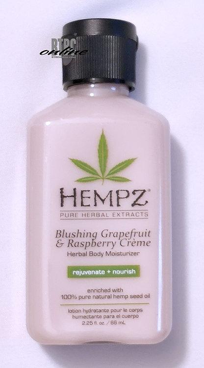 Blushing Grapefruit & Raspberry Creme Herbal Body Moisturizer * 2.25oz