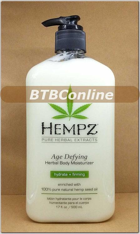 Age Defying Herbal Body Moisturizer *17oz Bottle