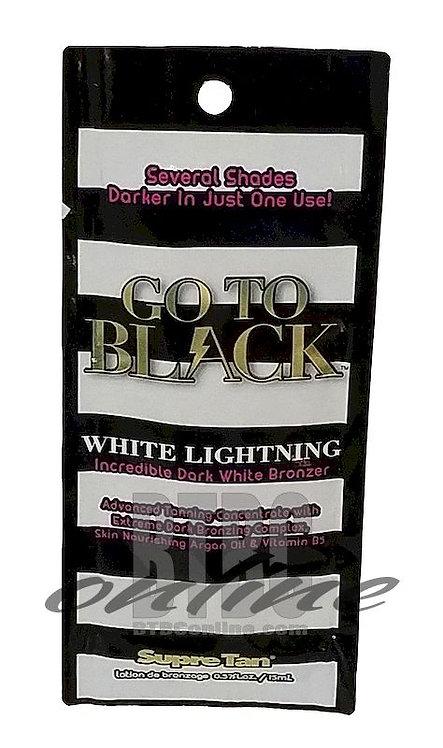 Go To Black White Lightning * Incredible Dark White Bronzer * .57oz Packette