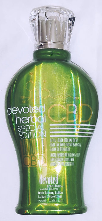 NEW for 2020 * Devoted HERBAL CBD Special Edition * 12.25oz Bottle