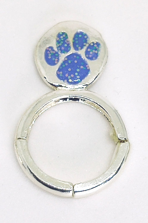 Adjustable Stretch Ring * Fits size 7.5 up * Pet Lover S22b