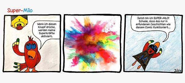 Textarten - Comic