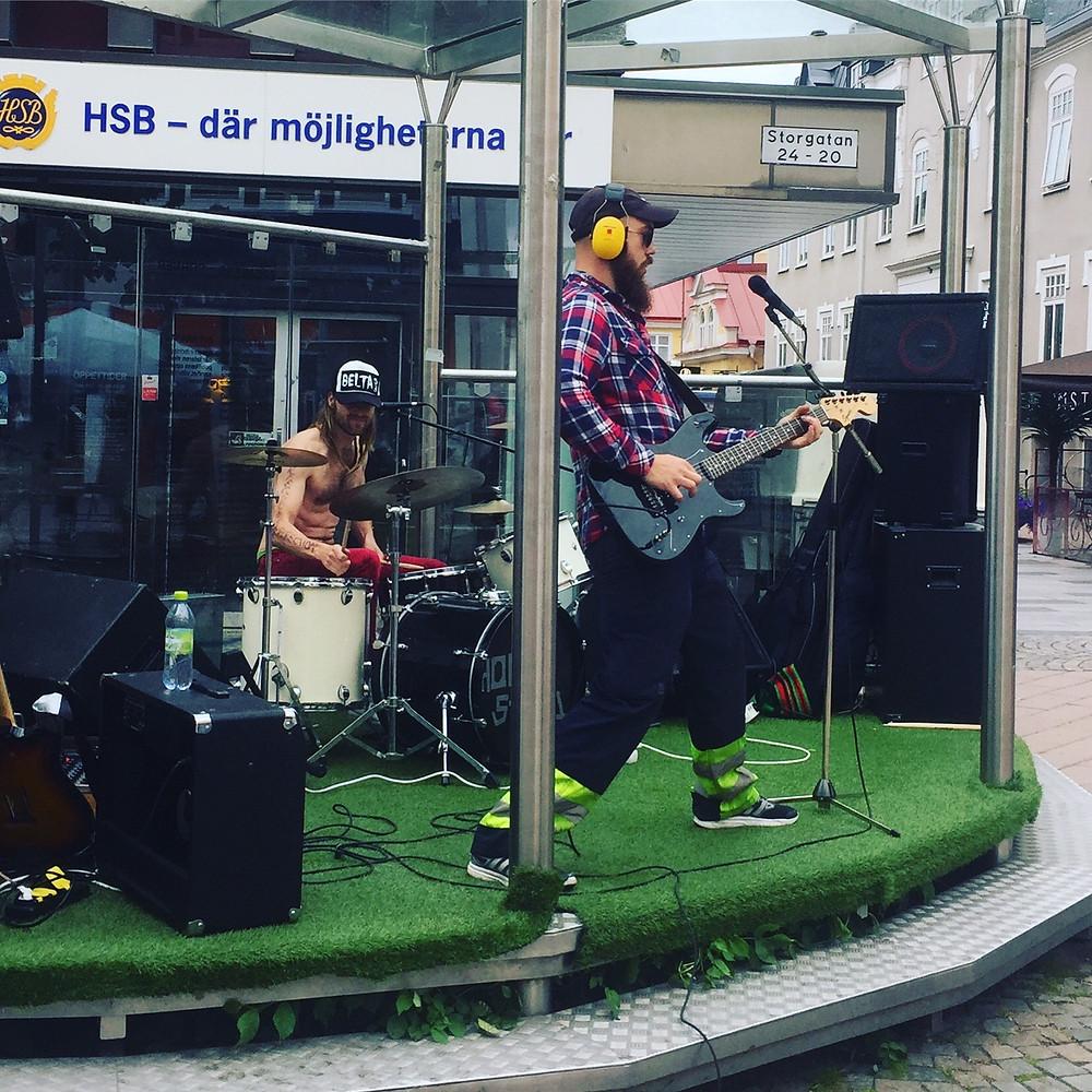 Spegelmannen @ Speakers Corner i Växjö 2017-07-01