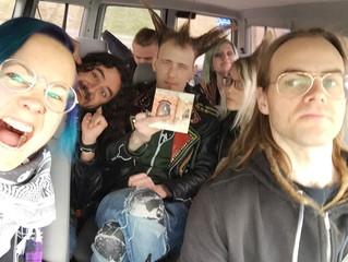 Rebel Days, Köttgrottorna och cd-släpp