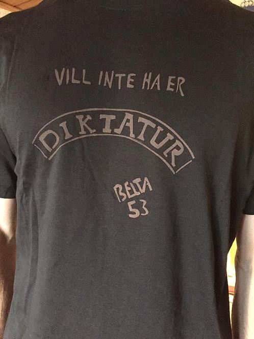 """T-shirt """"Diktatur"""""""