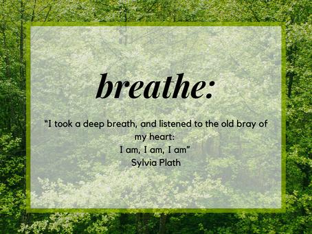 Breathe....