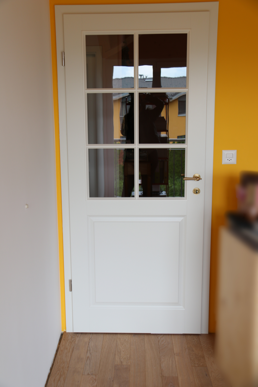 Pose de porte