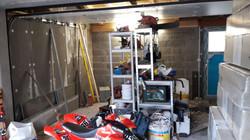 Transformation d'un garage -  Avant
