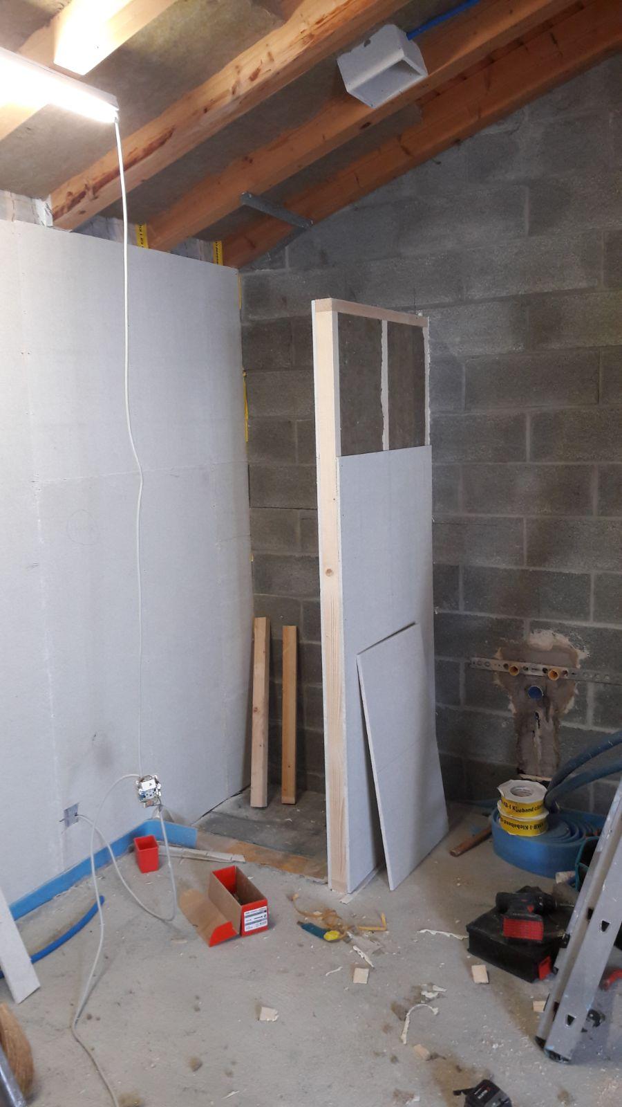 Transformation d'un garage - Avant 02