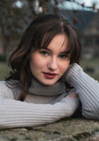 Portrait of Gabriela.