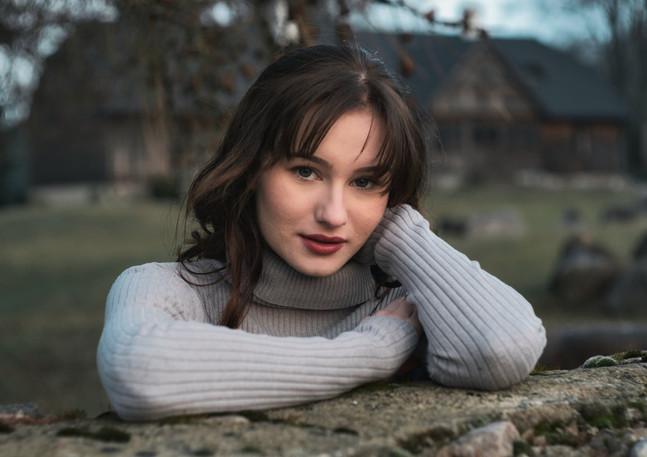 Portret Gabrieli.