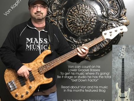 Von Kopfman Endorses Lower Groove