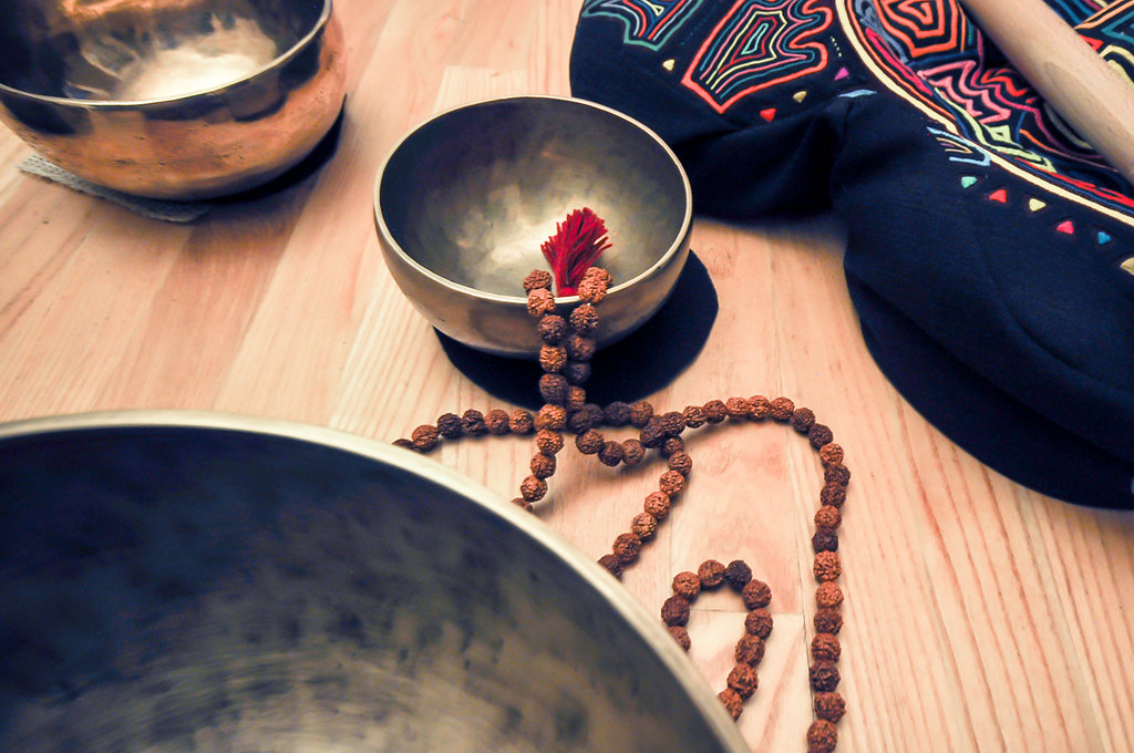 Singing Bowls and Mala