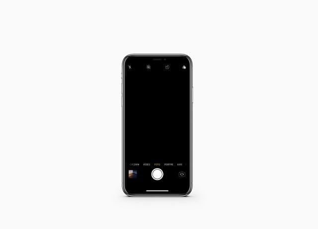 iphone arka kamera siyah ekran gostermesi