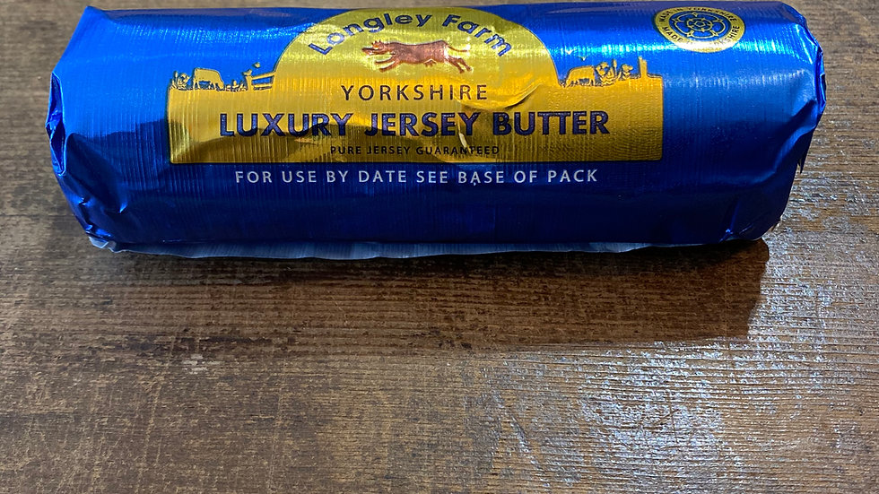 British Jersey butter