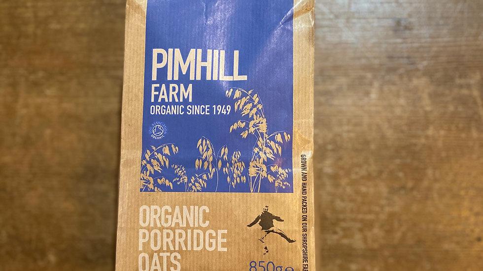 Pimhill Farm Organic porridge oats
