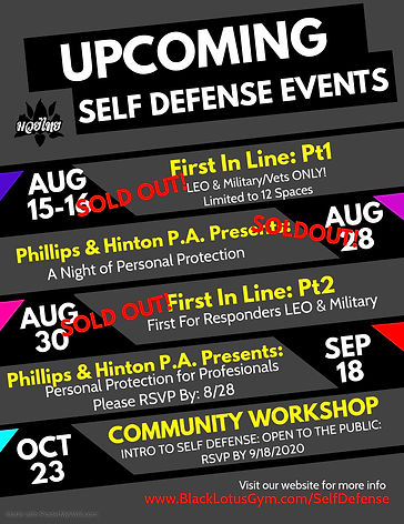 Self Defense Flyer - Made with PosterMyW