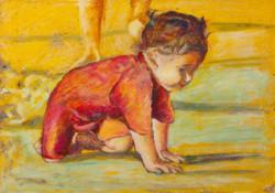Eliaz Slonim, Kids & Pets Paintings