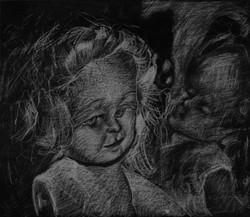 Eliaz Slonim, Black & White Drawings