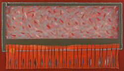 Eliaz Slonim, Abstract Painting