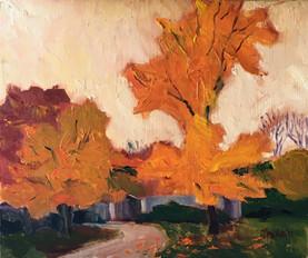 a fall study10x12oil.jpg