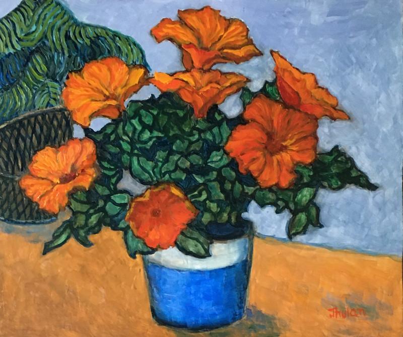 orange hibiscus10x12oil on canvas.jpg