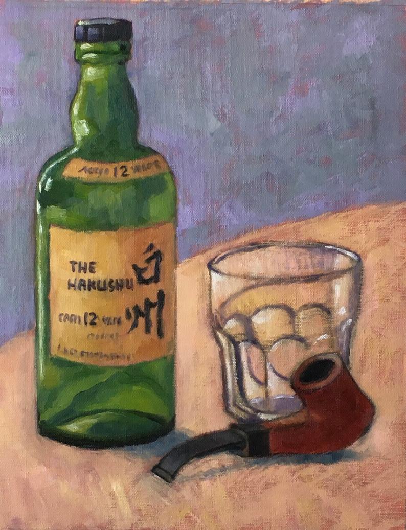 japanese whiskey14x11oil.jpg