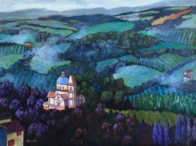 san biagio montepulciano oil on canvas 1