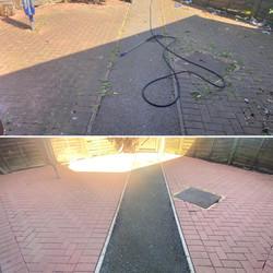 Block paving & tarmac path