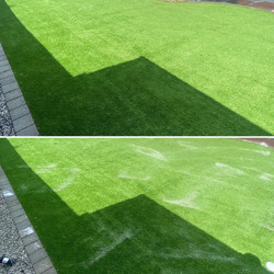 Astro Turf clean & disinfected