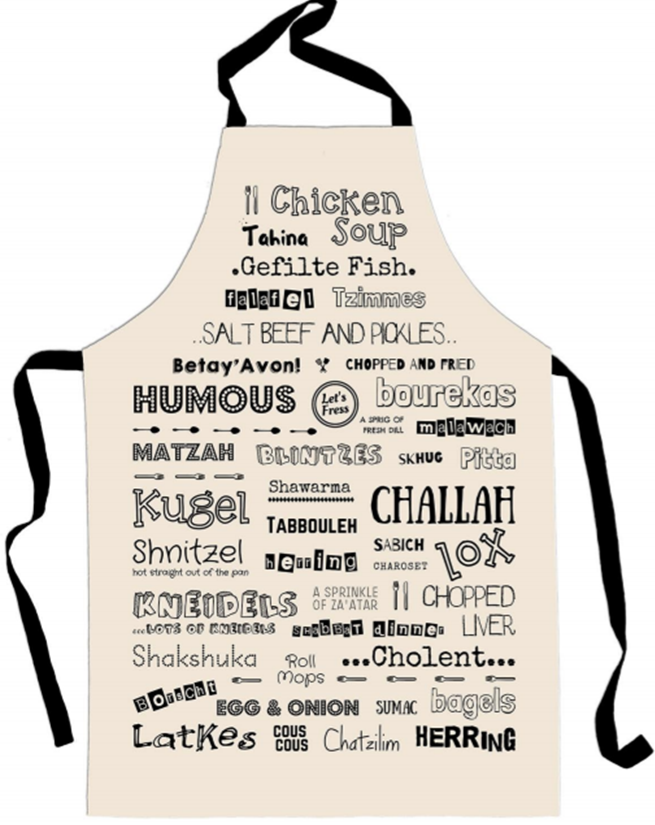 Favourite Jewish Foods Apron