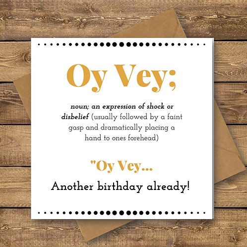 OY VEY FOILED CARD (001)